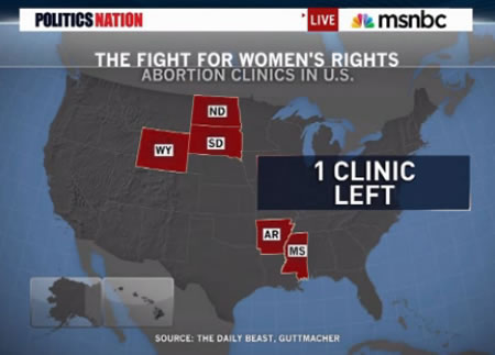 Msnbc Political Map.Videos Discuss Reproductive Rights 40 Years After Roe V Wade